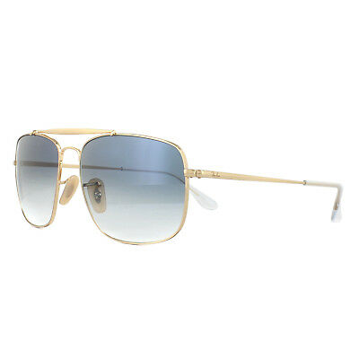 71cb2422d4 RAY-BAN SUNGLASSES THE Colonel RB3560 001 3F Gold Blue Gradient - EUR  109