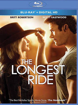 The Longest Ride (Blu-ray 2015) NEW Factory Sealed, Free Shipping
