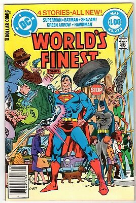 World's Finest #279 Featuring Superman & Batman, VF - Near Mint Condition'