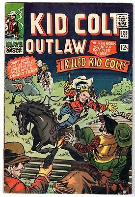Kid Colt Outlaw #128, Fine Condition