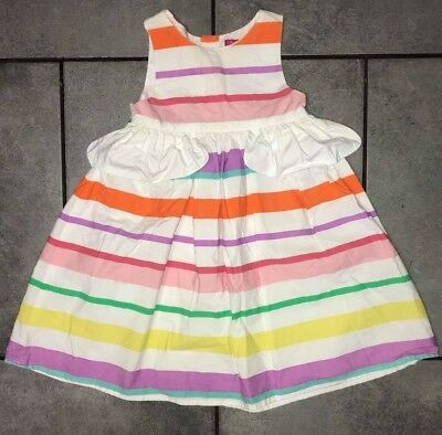 ec0a0ac77d PRIMARK GIRLS SUMMER Dress Grey Unicorn or Pink Pattern 2-8 Years ...