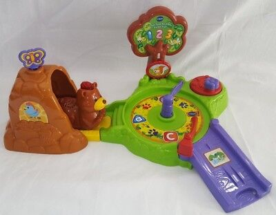 vtech toot toot animals forest fun play set bear cave