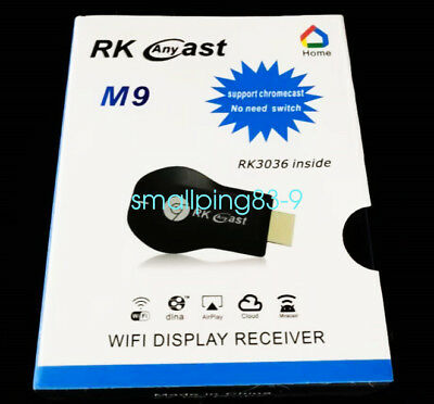 AnyCast M9 WiFi Display Dongle Receiver 1080P HDMI TV DLNA Airplay Miracast