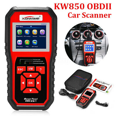 KW850 OBDII Auto Scanner Car Engine Fault Code Reader Diagnostic OBD2 Scan Tool
