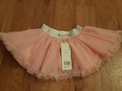 CHRISTMAS PARTY!!! BNWT F&F Baby Girls Pink Tutu Skirt Size 9-12 Months