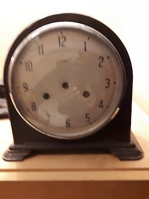 PRICE REDUCTION!!! Vintage Mahogany Mantel Clock, in need of service and repair