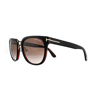 64d6d936e8 TOM FORD SQUARE Sunglasses TF290 Rock 01F Black Gold 55mm FT0290 ...