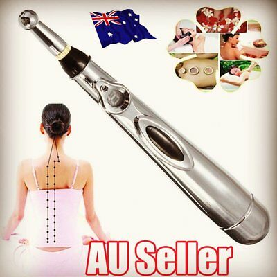 Electronic Pulse Analgesia Pen Body Pain Relief Acupuncture Point Massage Pen AA