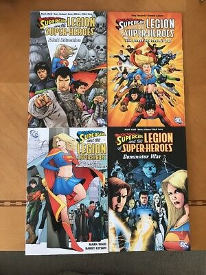 Supergirl and the Legion of Super-Heroes TPB (DC) Lot Of 4 Never Opened