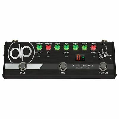 Tech 21 dUg Pinnick DP-3X Signature Bass Pre-Amp & Distortion Pedal + Ships Free