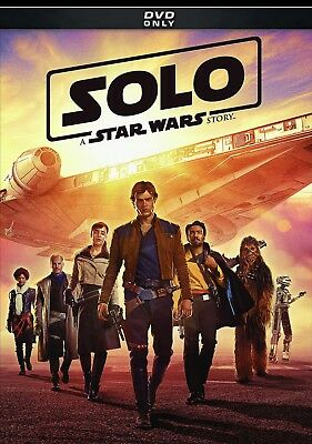 Solo A Star Wars Story (DVD 2018) Action-Adventure Free Fast Shipping 🚀