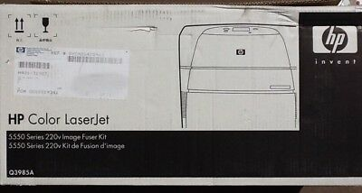 BRAND NEW HP Q3985A 5550 Color LaserJet 220V Fuser Kit 5,550 sheet - Fuser