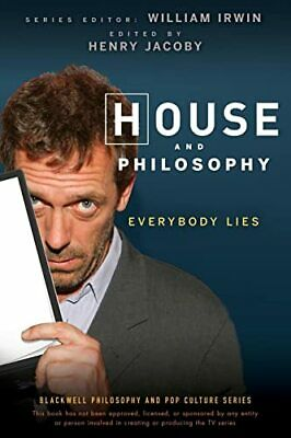 House and Philosophy: Everybody Lies (The Blackwel... by Jacoby, Henry Paperback