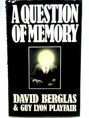 A Question of Memory by Playfair, Guy Lyon Hardback Book The Cheap Fast Free