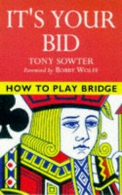 IT'S YOUR BID (How to play bridge) Paperback Book The Cheap Fast Free Post