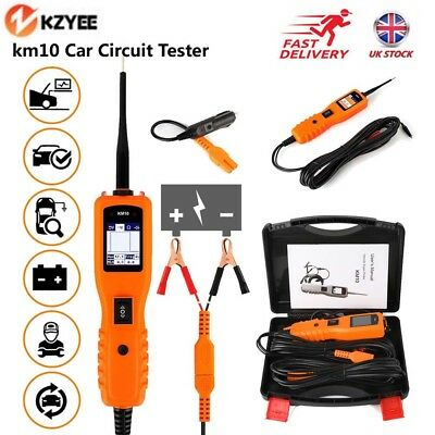 12V Car PowerScan Electrical Circuit Tester AVOmeter Power Probe Diagnostic Tool