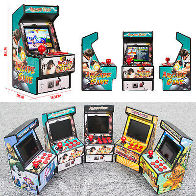 Portable USB Player Handheld Console Mini Arcade Gamer 16 bit Built in 156 Games