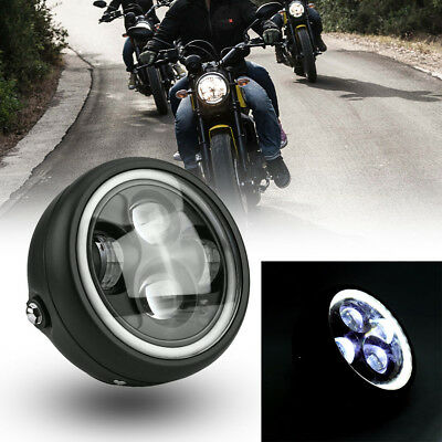 5.75inch 30W Motorcycle Front Headlight LED Head Lamp Bulb for Cafe Racer Bobber