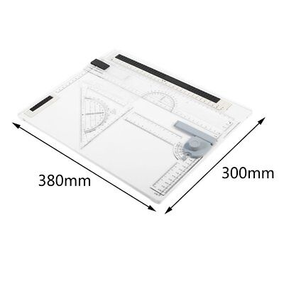 A3 A4 Rapid Portable College Drawing Board Office Graphic Design Work Drafting