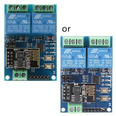 IOT APP Controller WIFI Module Relay ESP8266 2-Channel For Smart Home 12V