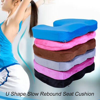 Memory Foam Hip Cushion Ergonomic Seat Cushions Relief Pain for Office Home TP