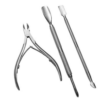 Cuticle Nipper, Cuticle Cutter and Remover with Cuticle Pusher for Dead Skin