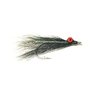 CLOUSER MINNOWS x 6  Saltwater fly fishing flies Pink White #2