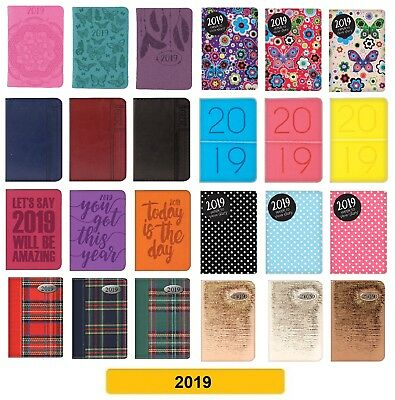 2019 DIARY - Pocket - Slim - A5 - Week to View Diaries WTV (School/Organiser)