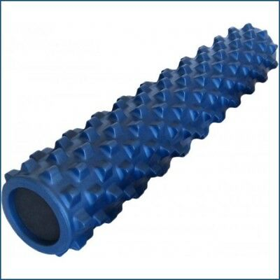 RUMBLE ROLLER 78cm PILATES, YOGA, FITNESS, EXERCISE ROLLER  Grid Design EVA Foam