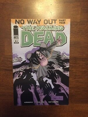 The Walking Dead Comic Book #83 No Way Out
