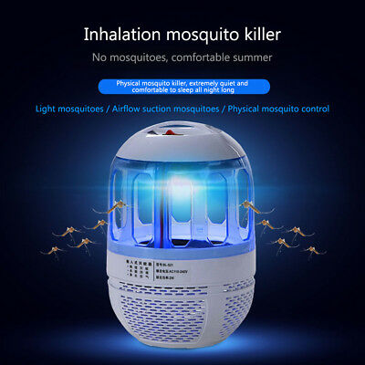 USB Electric 6LED Mosquito Killer Fly Bug Zapper Trap Catcher Lamp Pest Control