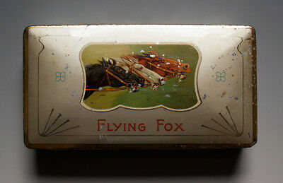 Blechdose Flying Fox SULIMA CIGARETTES um 1915
