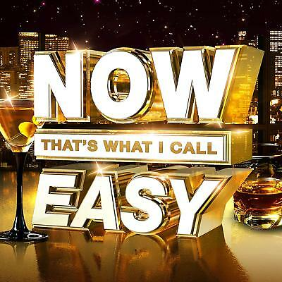 NOW THAT'S WHAT I CALL EASY (Various Artists) 3 CD SET (2018) (New & Sealed)
