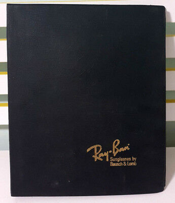 Ray-Ban Sunglasses by Bausch & Lomb! Vintage Advertising Folder with Price List!