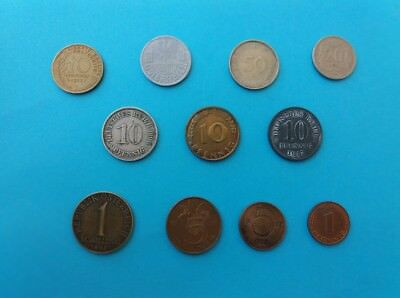 Lot 2 Of Mixed Vintage Coins Dating Since 1906!! Collection Attic Clearance Ww1