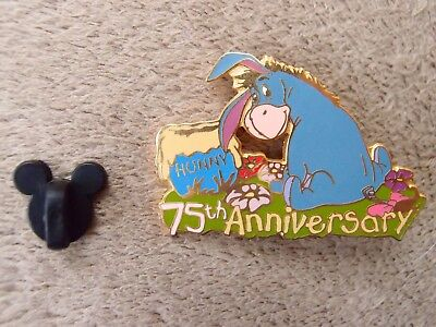 Disney Auctions Eeyore 75th Anniversary Honey Pot LE 100 Pin Winnie the Pooh