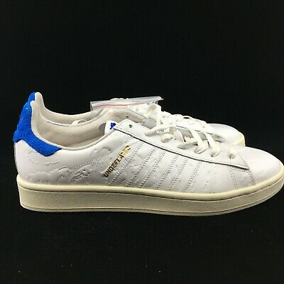 eeec7a1410bd9 Adidas Consortium Colette Undftd Campus S.E. BY2595 White Blue Undefeated  Gold
