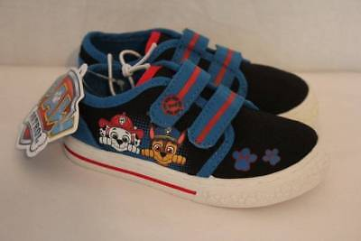 NEW Paw Patrol Toddler Boys Tennis Shoes Size 9 Sneakers Police Fireman Dog Cop