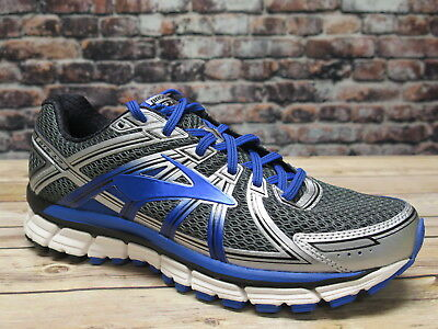 Brooks Men's Adrenaline GTS17 Anthracite/Electric Brooks Blue/Silver Running
