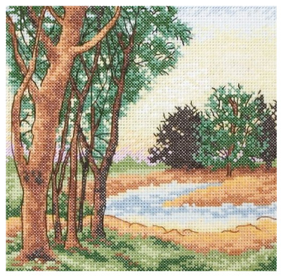 Anchor Counted Cross Stitch Kit - PCE327 Stream View
