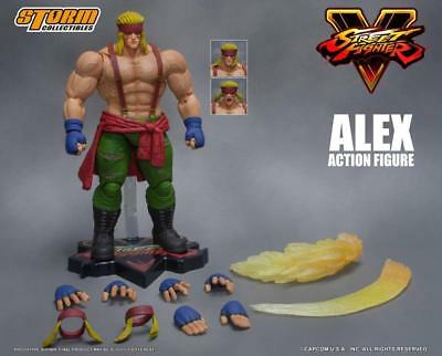 Storm Collectibles Street Fighter V Alex 1:12 1/12 Scale Action Figure USA NEW