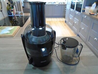 Philips Juicer with Jug & Lid HR 1855 / 01 Black 700 W