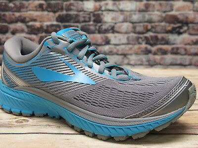 Brooks Women's Ghost 10 Primer Grey/Teal Victory/Silver Running