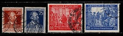 Item No. A5679 – Germany – Scott # 578-581 – Used