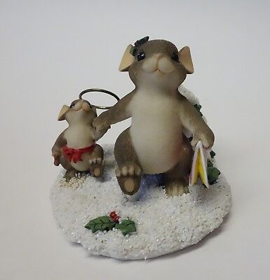 Charming Tails MY LITTLE ANGEL 87/123 DEAN GRIFF Mouse Figurine CHRISTMAS