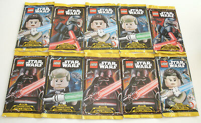 LEGO Star Wars Serie 1 Trading Card Game - 10 Booster Neu & OVP