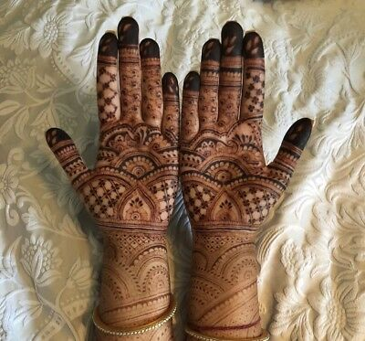 100% Natural Bridal Henna Cones - Made In England