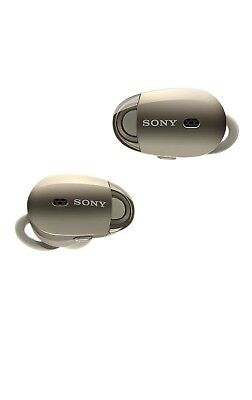 Sony WF1000X/NM1 Bluetooth Wireless In-Ear Earbuds Noise-Canceling Champagne