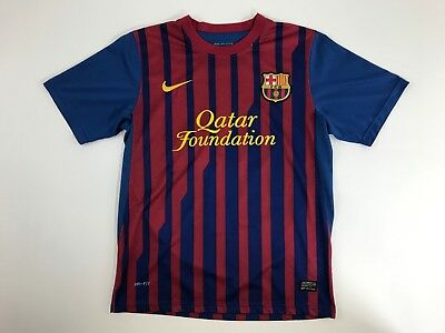 62ca25913 NIKE LIONEL MESSI  10 FC Barcelona Dri-Fit Soccer Jersey Men s Small ...