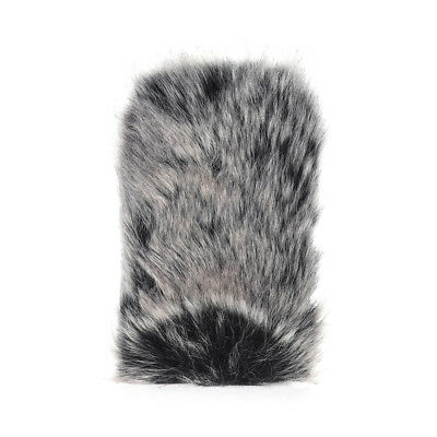 L Size Microphone Mic Furry Windscreen Windshield Cover Muff for TAKSTAR LT J9F4